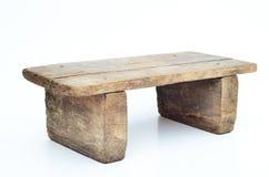 Mini sgabello di legno Fotografia Stock Libera da Diritti