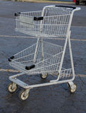 Mini Shopping Cart Royalty Free Stock Images