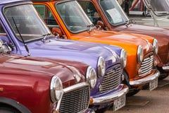 Mini Show Cars Royalty-vrije Stock Foto
