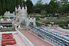 Mini Siam em Pattaya, Tailândia foto de stock royalty free