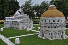 Mini Siam em Pattaya, Tailândia imagem de stock royalty free