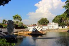 Mini Siam jest sławnym miniatura parka przyciąganiem obraz royalty free