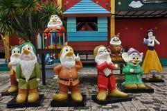 Mini Siam in Pattaya, Thailand Stock Image