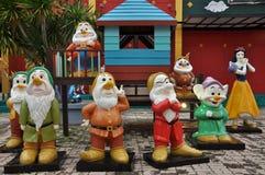 Mini Siam in Pattaya, Thailand Royalty Free Stock Photo