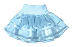 Mini skirt. Isolated on white Royalty Free Stock Image