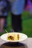 Mini- smörgåsar Royaltyfria Bilder