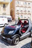 Mini  Smart cabriolet  Car in Monaco,France Stock Images