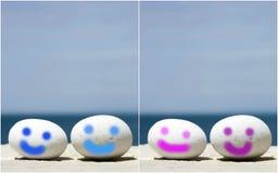 Mini Smileys Immagine Stock