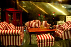 Mini sofà Immagini Stock