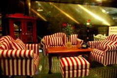 Mini sofá Imagens de Stock