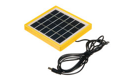 Mini solar panel Royalty Free Stock Images