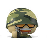 Mini soldier Royalty Free Stock Photo
