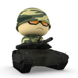 Mini soldier Royalty Free Stock Photos