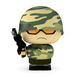 Mini soldier Royalty Free Stock Image