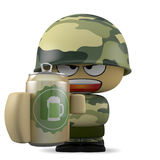 Mini soldier Royalty Free Stock Photography