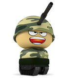 Mini soldier Stock Images