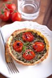 Mini Spinach Quiche Royalty Free Stock Photography