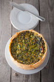 Mini Spinach Quiche Royalty Free Stock Image