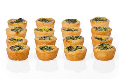 Mini Spinach Quiches Royalty Free Stock Image