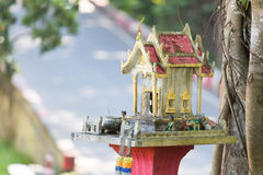 The mini spirit house Royalty Free Stock Image