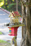 The mini spirit house Royalty Free Stock Photos