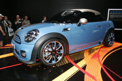 Mini sport car concept Royalty Free Stock Images