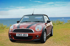 Mini sportscar Stock Photography
