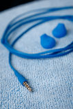 Mini- stålarcloseup med kabel Arkivfoto