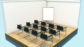 Mini stanza di addestramento illustrazione di stock