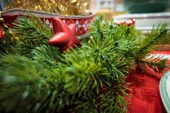 A mini star ornament for Christmas Royalty Free Stock Photography
