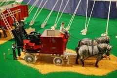 Mini statua del circo Fotografia Stock