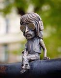 Mini statua Jon Lord Fotografia Royalty Free