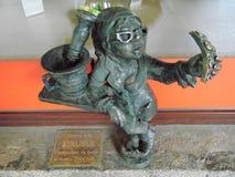 Mini Statue i Polen Arkivfoto