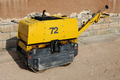 Mini steamroller Royalty Free Stock Photography