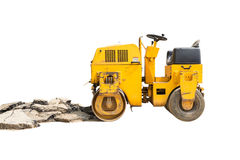 Mini Steamroller isolated Royalty Free Stock Photo