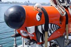 Mini submarine closeup Stock Photo
