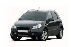 Mini SUV nero Fotografie Stock