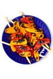 Mini Sweet Peppers grillé image libre de droits
