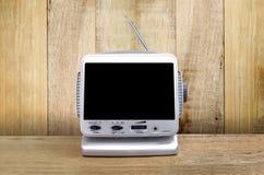 Mini télévision analogue Photographie stock