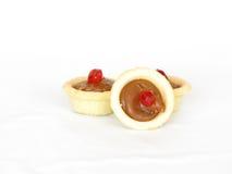 De taartjes van de karamel Stock Foto