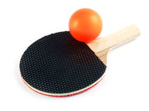 Mini Table Tennis Set 2 Royalty Free Stock Photo