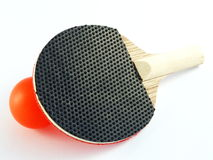 Mini Table Tennis Set Royalty Free Stock Images