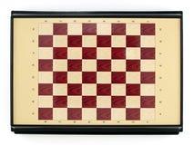 Mini tablero de ajedrez Fotos de archivo