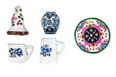 Mini tableware royalty free stock photo