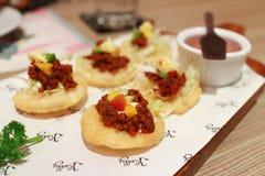 Mini- taco Royaltyfri Foto