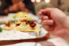 Mini- taco Fotografering för Bildbyråer