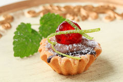 Mini tart Royalty Free Stock Photo