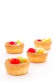 Mini tarta de la fruta Fotografía de archivo libre de regalías
