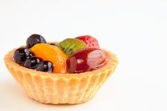 Mini tarte de fruit Photos libres de droits