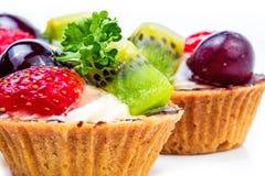 Mini tarte de fruit Photographie stock
